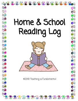 Home & School Reading Log