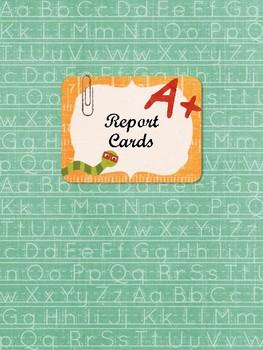 Home School Report Card Book