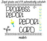 Progress Report & Report Card Kit
