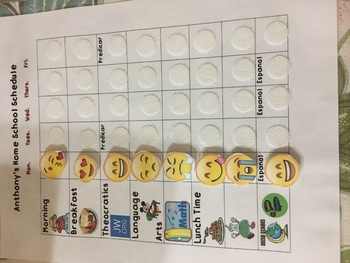 Home School  Schedule Checklist