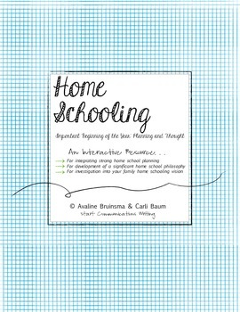 Home School Planning (Vision & Thought)