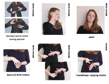 Home Series: Bathroom Sign Language (ASL) Vocabulary Cards