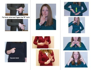 Home Series Sign Language (ASL) Vocab Cards - SUPER PACK - Food, Home, Family