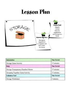Home Storage Lesson