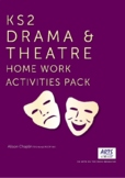 Distance Learning Drama and Theatre Pack, KS2, Grades 3-7,