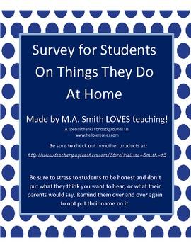 Home Survey