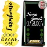 Home Sweet Classroom Farmhouse Door Decoration Set or Bulletin Board