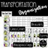 Home Sweet Home Transportation Tags, Forms, Bracelets, Cha