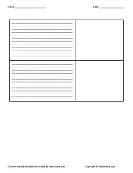 Home Sweet Home Writing Activity      Great for Benchmark Advance First Grade