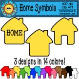 Home Symbols Clip Art