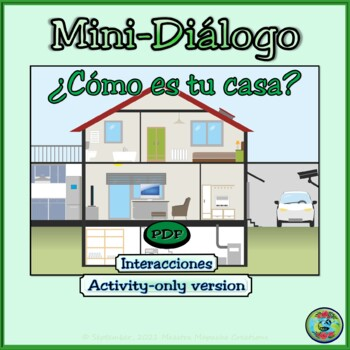 Home Topic Mini-Dialogue - Mini-Díalogo de Mi Casa