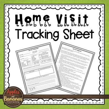 Home Visit Tracking Sheet