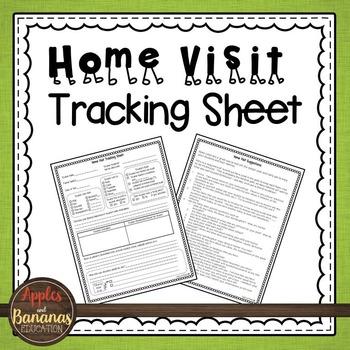 Home Visit Tracking Sheet