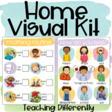 Distance Learning Visuals for Home