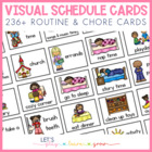 Home Visual Schedule/Routine & Chore Chart for Toddlers and Preschoolers