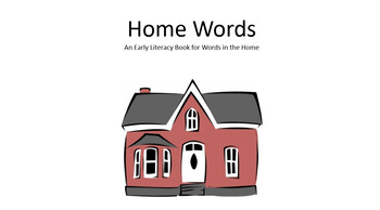 Home Words Pre-Literacy Book