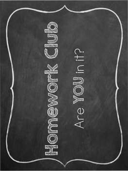 Home Work Club Bulletin Board Classroom Organization Incentive Management