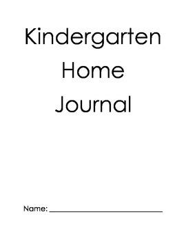Home Writing Journal