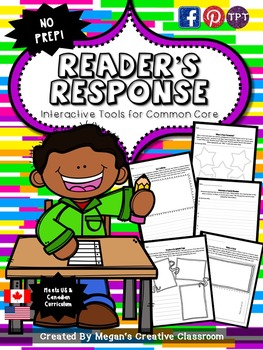 Reading Comprehension Printables for the Common Core {No Prep}