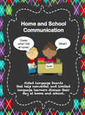 Home and School Communication for Students who are Non-verbal