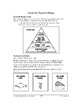 Home and School Math: Eating Smart-Pyramid Bingo