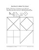 Home and School Math: Improving Your Space-Make That Shape!