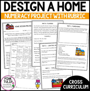 Cross Curriculum Maths Project- Home Design Assignment