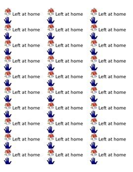 Home folder labels- bundled