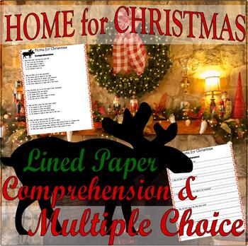 Home for Christmas Jan Brett : Reading Comprehension & Multiple Choice Questions