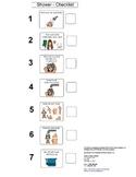 Home hygiene shower checklist