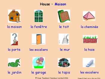 Home in French Posters / Slides