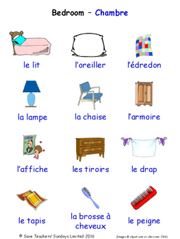 Home in French Word searches / Wordsearches