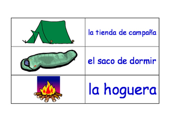 Home in Spanish Flash Cards