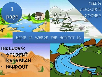 Home is Where the Habitat Is...