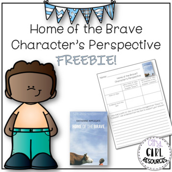 Home of the Brave: Character's Perspective FREEBIE