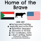 Home of the Brave Novel Mini Unit: Reading, Analysis, & Writing Activities