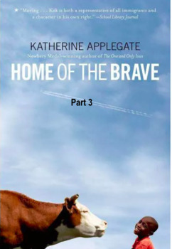 Home of the Brave Novel- Quiz 1 Part 1