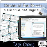 Home of the Brave Task Cards: Part I