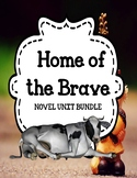 Home of the Brave - Novel Unit Bundle Print and Paperless
