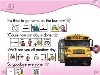 Home on the Bus - Animated Step-by-Step Song - PCS