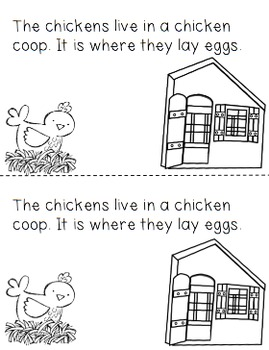 Home on the Farm: An Informational Reader for Lower Elementary