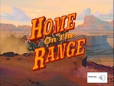 Home on the Range - Key of G