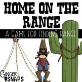 Home on the Range - Finding Range Game
