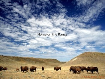 Home on the Range Sing-Along
