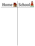Home school clothespin check in chart