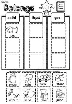 solid liquid gas(Free-feedback challenge)