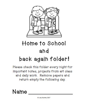 Back to School folder