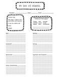 Home/School Communication Sheet