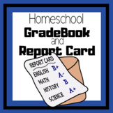 HomeSchool Report card and Grade book Forms