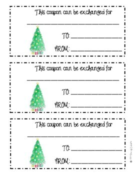 Homeade Coupon Pack - Christmas